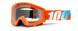 MX Brille Crosshelm orange