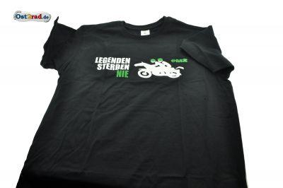 T-Shirt MZ Legenden sterben nie - SCHWARZ