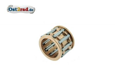 Nadellager für Kolbenbolzen 12x16x13 verkupfert, für SIMSON