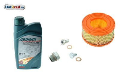 Ölwechsel - Wartungsset TS 125 TS 150 ES 125 ES 150 ETS 125 ETS 150 Luftfilter klein