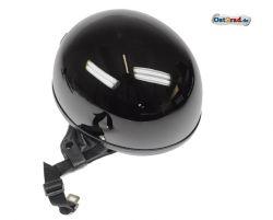 Helm Oldtimer Halbschale schwarz