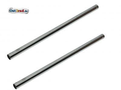 2x Tragrohre Ø29,65, L= 594 mm für alte Telegabel - SR50, SR80, S53E