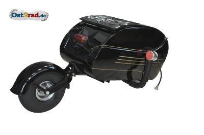 Remorque mono roue PAV 40 Noire