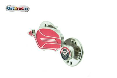 Pin Jawa Anhänger Pav rot