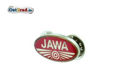 Pin Jawa Logo rot