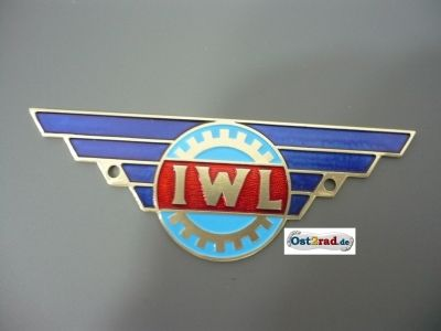 IWL plaque just