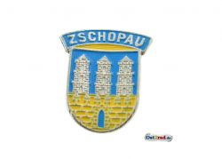 Plakette Emblem Zschopau passend für MZ RT gewölbt