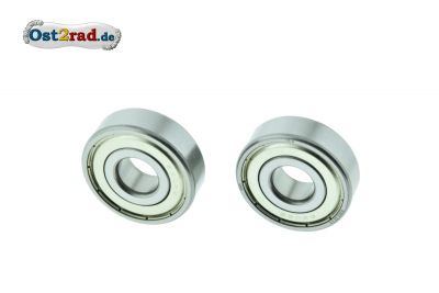 One pair wheel bearing MZ 6302 ZZ