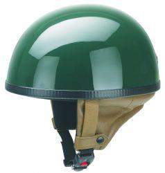 Helm Oldtimer Halbschale dunkelgrün
