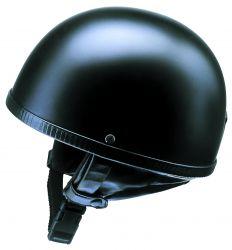 Helm Oldtimer Halbschale mattschwarz