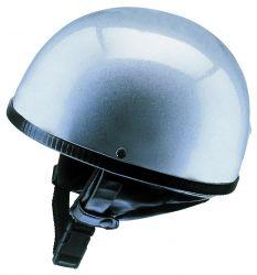 Helm Oldtimer Halbschale silber