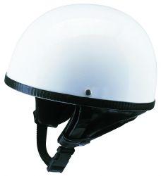 Helm Oldtimer Halbschale weiss