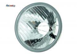 Reflektor Halogen H4 KLARGLAS passend für MZ ETZ Scheinwerfereinsatz