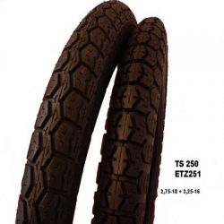 Jeu de pneus TS250 ETZ251