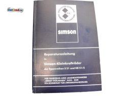 Reparaturanleitung SIMSON S51 Schwalbe KR51/2