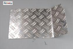 Batterieabdeckung Riffelblech SIMSON SR50 SR80