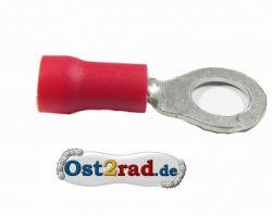 Cosse ronde M 3 rouge