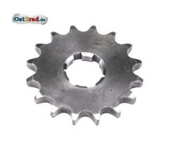Sprocket wheel at gearbox Jawa 634 638 639 640, small chainwheel