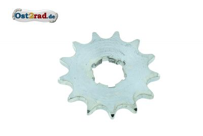 Sprocket wheel, 13 teeth, small sprocket 50 JAWA Pioneer