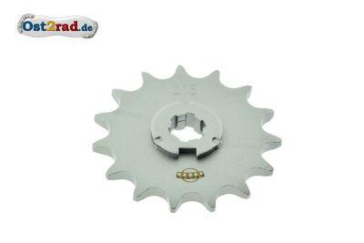 Ritzel kleines Kettenrad Simson S50 KR51/1 Spatz - 15 Zähne