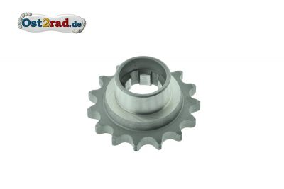 Pinion, small chainwheel Jawa 250 - 350 cubic centimetres