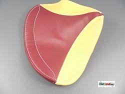 Sitzbezug SIMSON Oldtimer SR2 rot-gelb