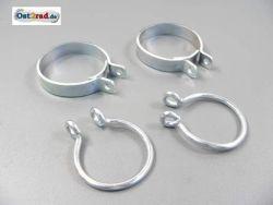 Jeu de 4 colliers soufflets de fourche JAWA Perak