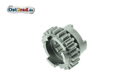 Sliding gear 1st and 3rd gear, MZ ETZ 250, 251, 301 and TS250/1