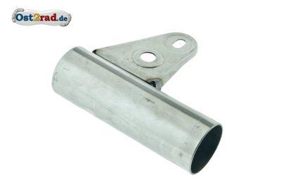 Deckel für Vorderradnabe - Aluminium, schwarz glänzend PPB