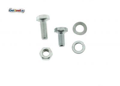 Schraubensatz passend für Simson S50, S51, S70 Scheinwerfer