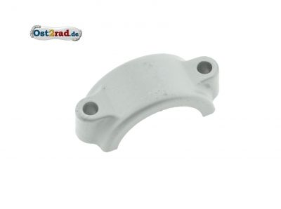 Klemmbrücke f. Kunststoff-Vorderradkotflügel - Oberfläche silber beschichtet