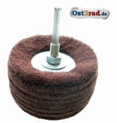 Abrasive D80 P100 with support for steel and aluminium