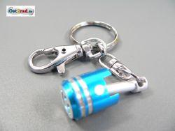 Keychain flask blue