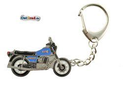 Schlüsselanhänger passend für MZ ETZ 250 blau