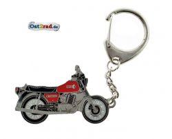 Schlüsselanhänger passend für MZ ETZ 250 rot