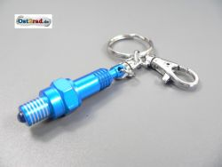 Key Ring blue spark