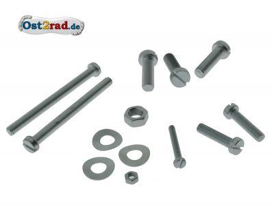 Schraubensatz Fahrgestell Verkleidung Ansauganlage TS 250 250/1