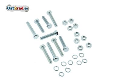 Schraubensatz Fahrgestell Rahmen Kippständer Fußbremse RT125/3