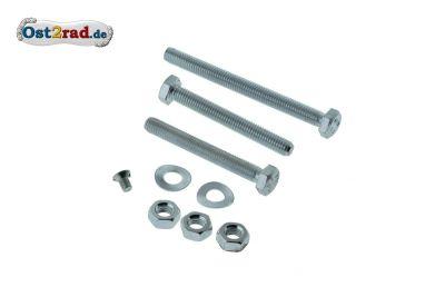 Schraubensatz Fahrgestell Rahmen Vorderbau Kippständer SIMSON SR1