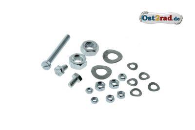 Schraubensatz Fahrgestell Vordergabel Schutzblech SIMSON SR1