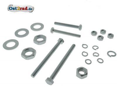Schraubensatz Fahrgestell Rahmen TS 250 250/1