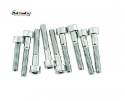 Schraubensatz passend für Simson S51, S70 Motorseitendeckel Innensechskant