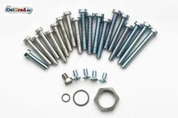 Schraubensatz Motor Gehäuse und Deckel SIMSON Schwalbe KR51/2