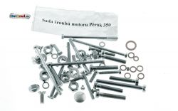 Schraubensatz Motor JAWA Perak 350 Typ 18