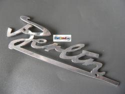 Schriftzug Berlin Aluminium IWL Berliner Roller