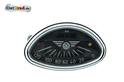 Compteur vitesse CZ 125 - 250, 120km/h