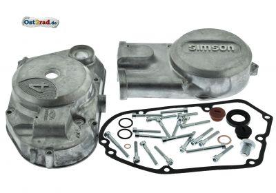 Set Motordeckel und Kleinteile SIMSON S51, SR50, KR51/2