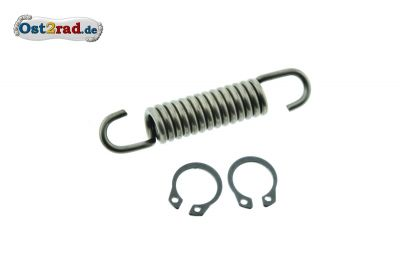Shoe return spring for brake shoe MZ