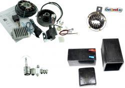Elektronische Zündung Umrüstsatz komplett Powerdynamo/Vape 12V pass. für RT125/0/1/2