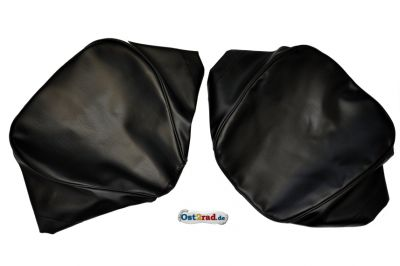Set Sitzbezüge Einzelsitze SIMSON AWO -S 425 schwarz